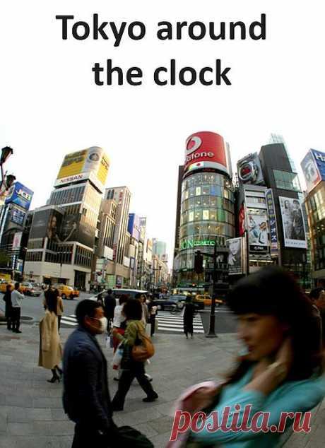 Один день из жизни Токио.