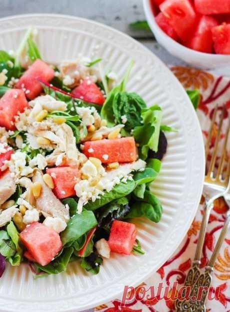 Невероятно вкусные летние салаты. Лучшие рецепты   intervkus.com