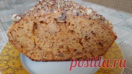 Кекс «Коровка» на сгущённом молоке Предлагаю рецепт вкуснейшего кекса «Коровка». Печется он на основе вареного сгущенного молока и грецких орехов.  Нежный, мягкий и нереально вкусный!Ингредиенты:молоко сгущенное вареное – 1 б.;яйца – 4 шт.;молоко – 100 мл.;сахар – 50 г.;ванильных сахар – 10 г.;разрыхлитель – 2 ч.л.;мука –...