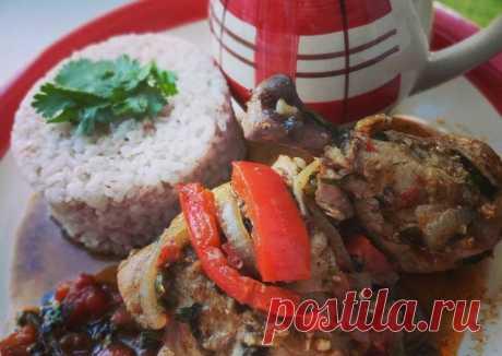 (11) Чахохбили из курицы 😋 - пошаговый рецепт с фото. Автор рецепта Александра . - Cookpad