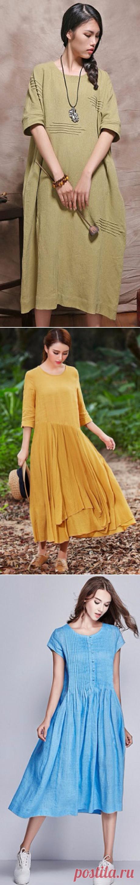 Бохо-платья