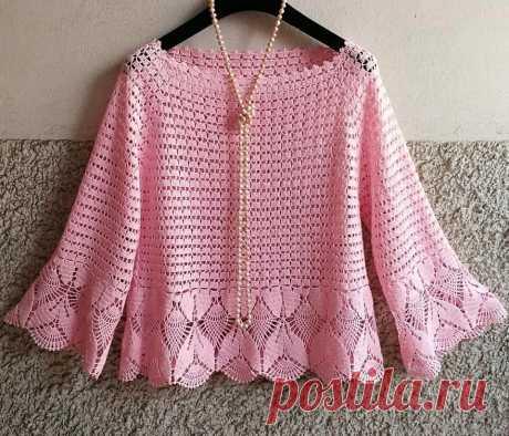Пуловеры крючком для начинающих. Просто и красиво | Южная сова | Яндекс Дзен