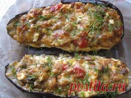 Как приготовить баклажаны фаршированные по-каталонски - рецепт, ингредиенты и фотографии