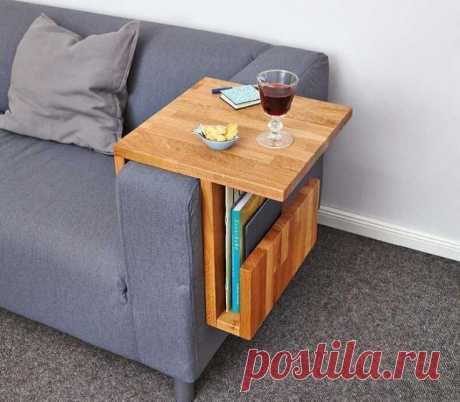 Навесной диванный столик