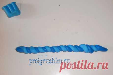 Лепим из полимерной глины зайку. Поделка зайчик из полимерной глины своими руками | Детские игрушки и развивающие игры