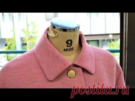 How to sew a Bal Collar of a Jacket (Blazer)