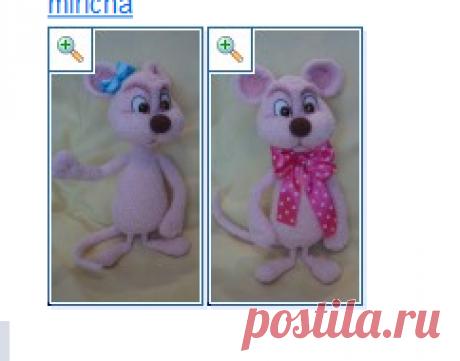 Мышка Машенька - МК по вязанию игрушек - Форум почитателей амигуруми (вязаной игрушки)