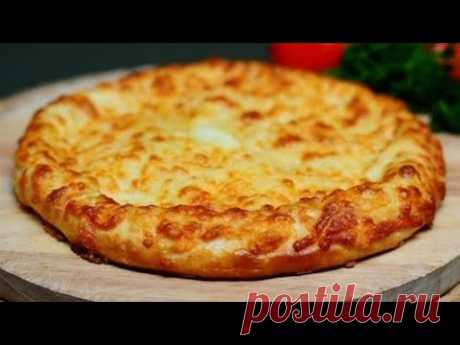 "СЫРНАЯ ЛЕПЕШКА на сковороде за 10 МИНУТ! Ленивый"" Хачапури"" 🍕 Cheese cake - YouTube"