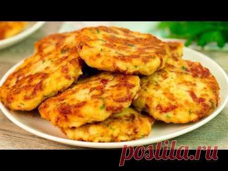 Картофельный шницель - первый откусываешь, за вторым рука тянется! | Appetitno.TV