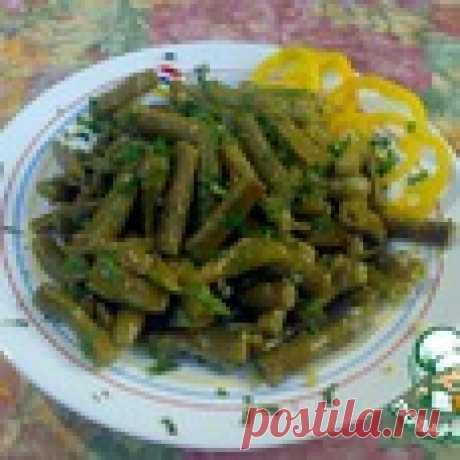 Зеленая фасоль по-сирийски Кулинарный рецепт