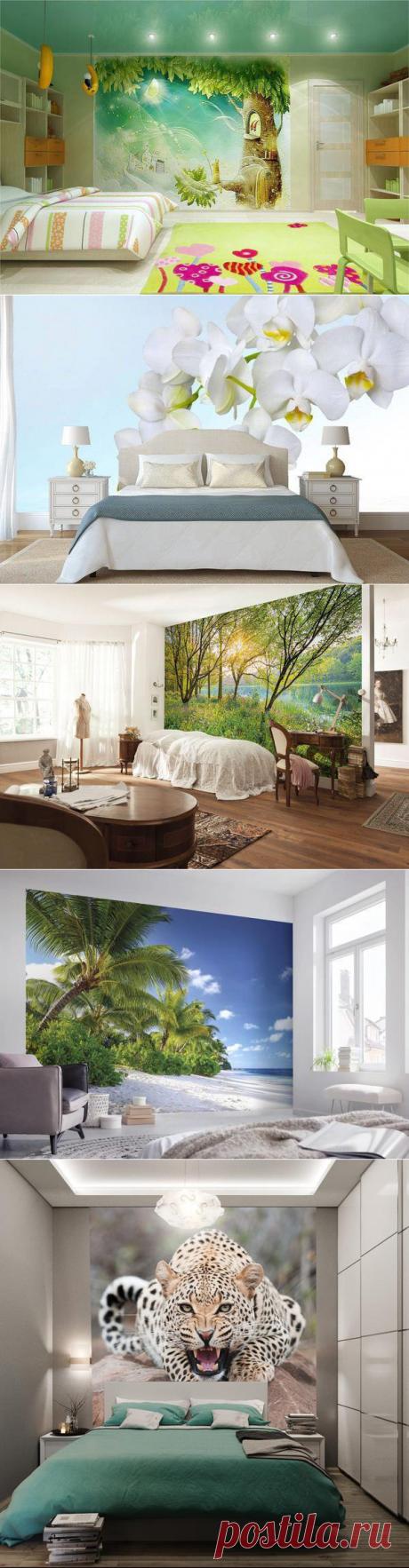 Какие фотообои выбрать для спальни - фотообои, спальня, интерьер, как выбрать фотобои, какие выбрать фотобои, фотообои для спальни