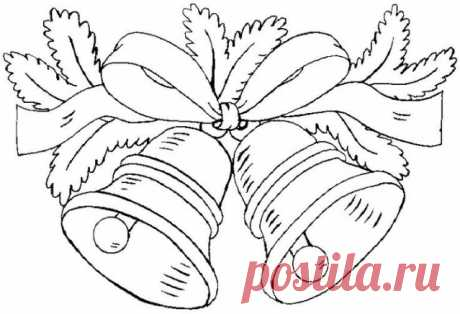Новогодние шаблоны, трафареты - запись пользователя any (Аннушка Петровна) в сообществе Картинки для творчества в категории Фоны, рамки, трафареты