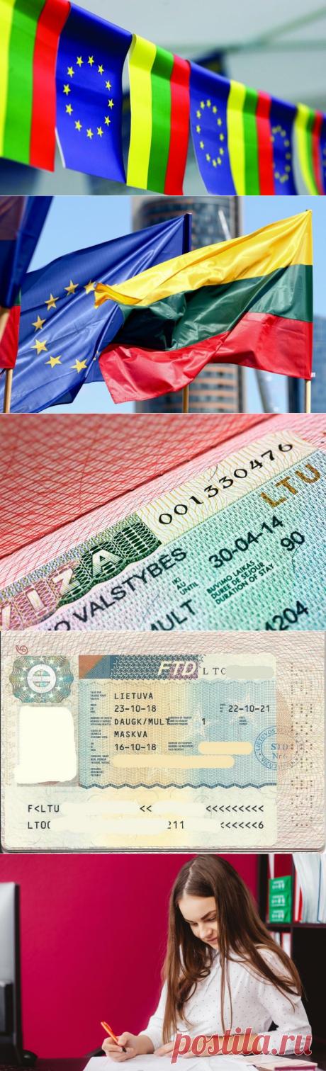 Шенгенская виза в Литву для россиян: анкета, документы, стоимость