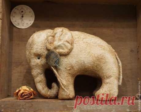 Возрождаем культуру. Хотьковский слоник - Ярмарка Мастеров - ручная работа, handmade