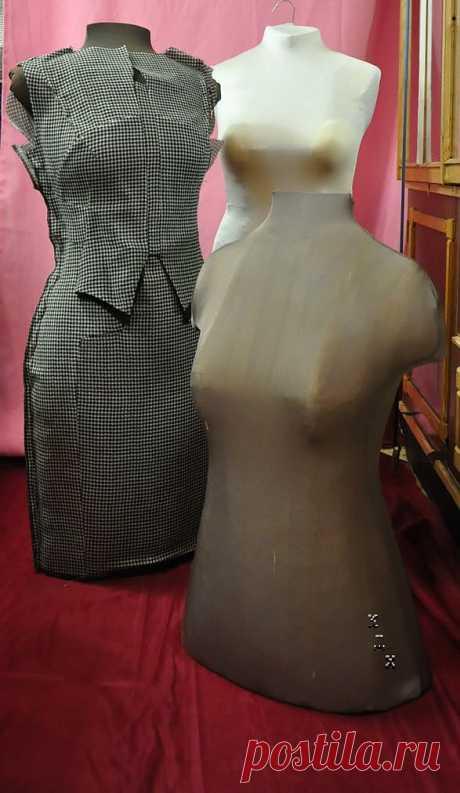 Новый способ сделать самому портновский манекен (мастер-класс) / Материалы, техники и инструменты / Модный сайт о стильной переделке одежды и интерьера