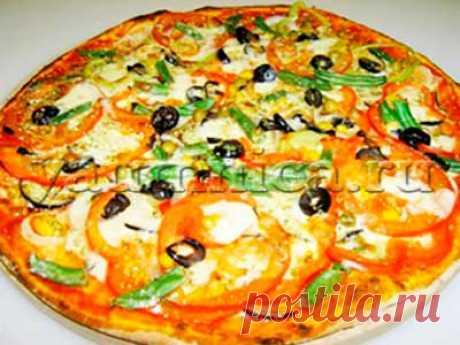 Домашняя пицца в духовке: ингредиенты, рецепт, секрет приготовления