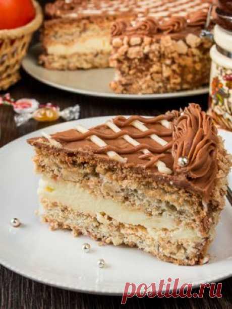 Киевский торт по ГОСТу: как приготовить - проверенный пошаговый рецепт с фото на Вкусном Блоге