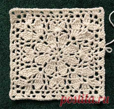 CindyKnight000's Daisy Square One  04-16-2018  STITCHES YO - yarn over CH - chain SS - slip stitch SC - single crochet DC - double crochet HTC (half treble crochet); YO 2x, insert hook into next stitch; YO and draw up a loop (5 loo...