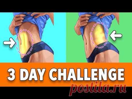 3 Day Challenge: Side Fat Burn Exercises