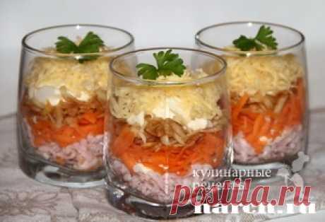 Салат-коктейль с колбасой и морковью «Максим» | Фоторецепт с подробным описанием от Харч.ру