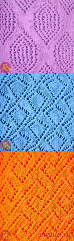 Восхитительные узоры спицами из коллекции Барбары Вокер — Сделай сам, идеи для творчества - DIY Ideas