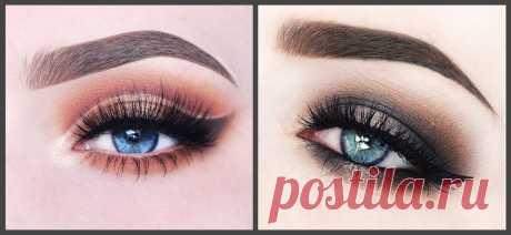 19 подборок ошеломляющего макияжа голубых глаз