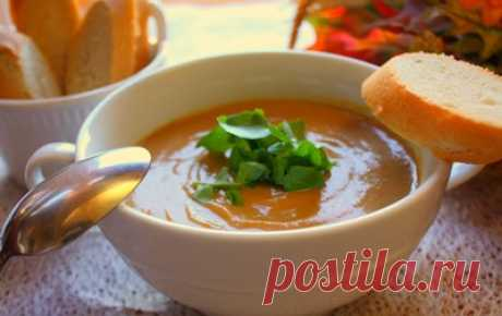 Суп-пюре из тыквы: рецепты с фото