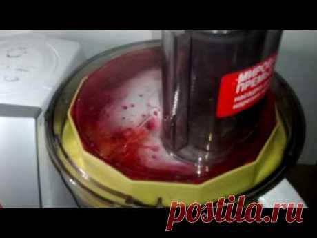 Перетертая калина с сахаром в кухонном комбайне bosch. Как быстро и вкусно сделать джем из калины.