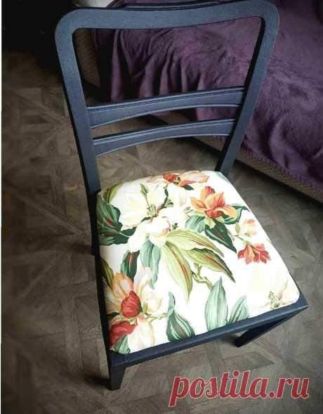 Девушка вдохнула новую жизнь в потрепанные советские стулья – получилась «конфетка» | Oikodomeo | Яндекс Дзен