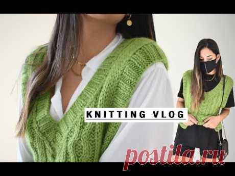 Knitted Vest || Chaleco tejido