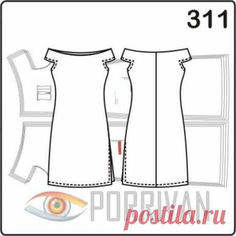Выкройки женских платьев: простые, из трикотажа, нарядные, домашние.