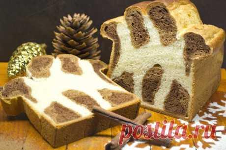 Леопардовый бриошь — сладкий хлеб на Рождество. Пошаговый рецепт с фото — Ботаничка.ru