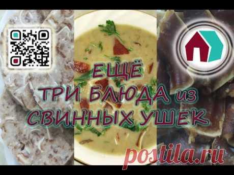 ЕЩЕ ТРИ БЛЮДА ИЗ СВИННЫХ УШЕК - YouTube