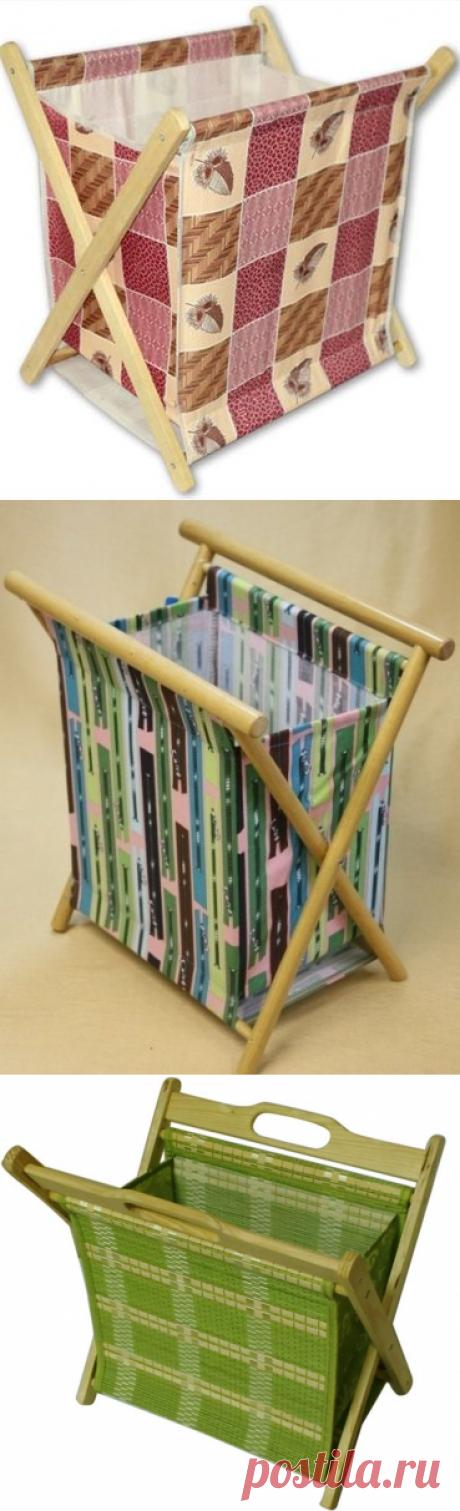 Делаем сами: раскладная подставка для рукоделия или газет/журналов!