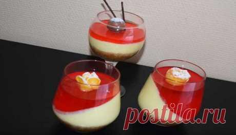 Оригинальный чизкейк в стаканах без выпечки — десерт на Новый год