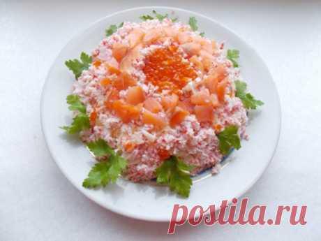 Праздничный слоёный салат «Самоцветы» - Ботаничка.ru
