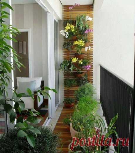 Обустраиваем маленький балкон — Мой дом