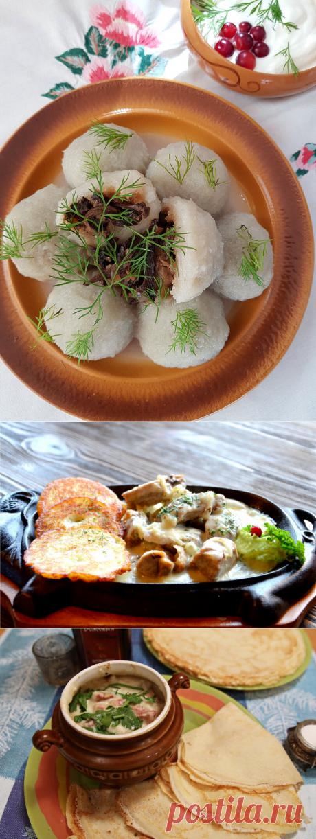 Топ-5 самых популярных белорусских блюд и продуктов