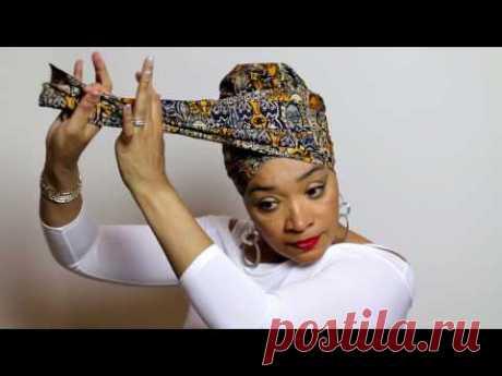 Easy Head Wrap & Turban Tutorial #8 | Subscribe | Share | Like | @boldlookheadwraps