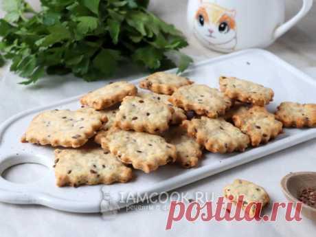 Постный крекер — рецепт с фото На основе воды и растительного масла замесите тесто. Добавьте в него семена льна и кунжута. Сформируйте печенье и выпекайте до румяности.