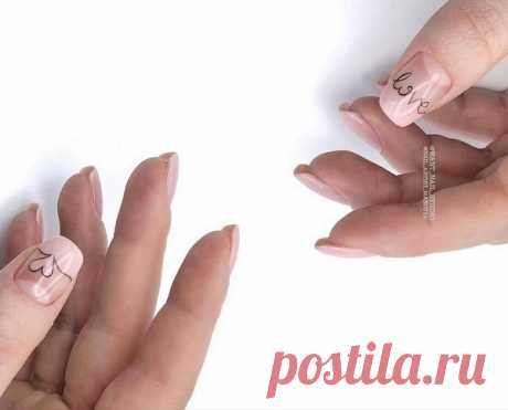 Надписи на ногтях в сезоне 2019-2020: модный дизайн ногтей со словами и надписями, тренды и новинки