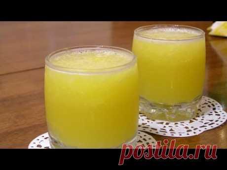 ¡El ponche del champán y los agrios para Nuevo año! \/ Citrus punch with champagne ♡ English subtitles - YouTube