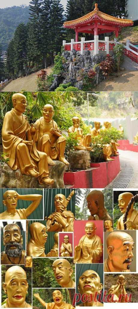 Монастырь Десяти тысяч Будд. Гонконг. Китай. | Искусство
