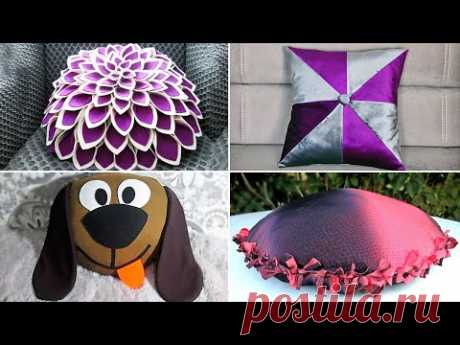 10 креативных идей, как сшить необычные подушки своими руками