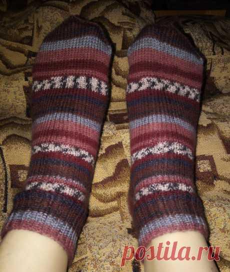 Пробую вязать носки из Ализе superwash | Ленка творит! | Яндекс Дзен