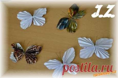 Интерьерные бабочки