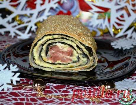 """Закуска """"Суши-рулет"""" – кулинарный рецепт"""