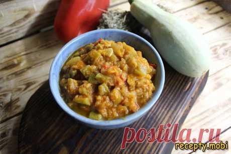 Кабачковая икра по-итальянски (Caviale di zucchine)