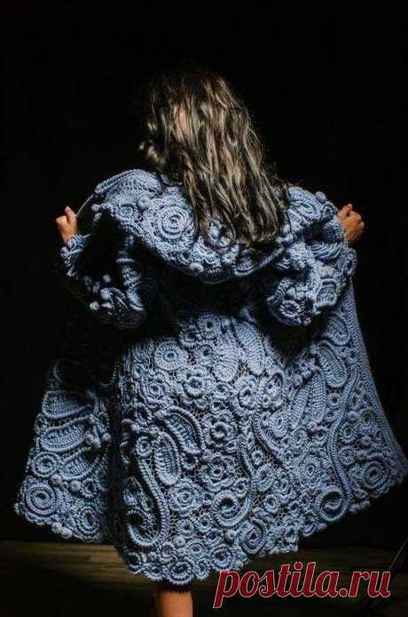 Вязаные пальто и кардиганы: подборка для вдохновения. Мк по двум кардиганам вчера и сегодня - в ленте группы
