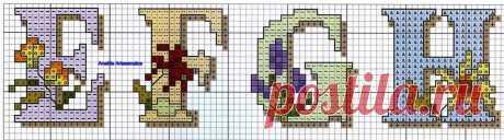 Anaide Ponto Cruz: Alfabetos em ponto cruz para fazer lindos trabalhos.